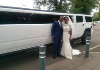hummer wedding sat