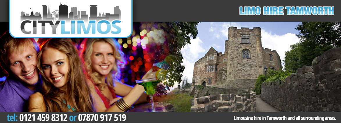limo hire from birmingham to tamworth