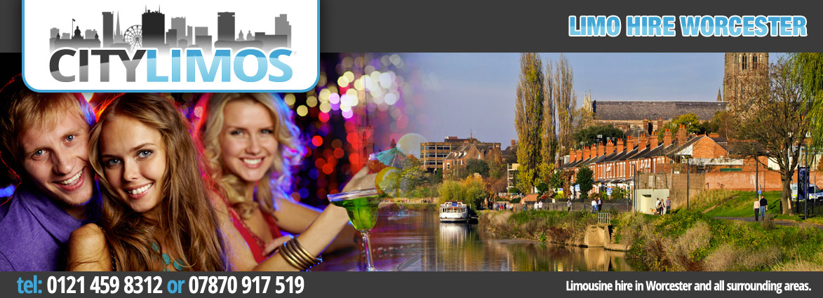 limo hire from birmingham to worcester