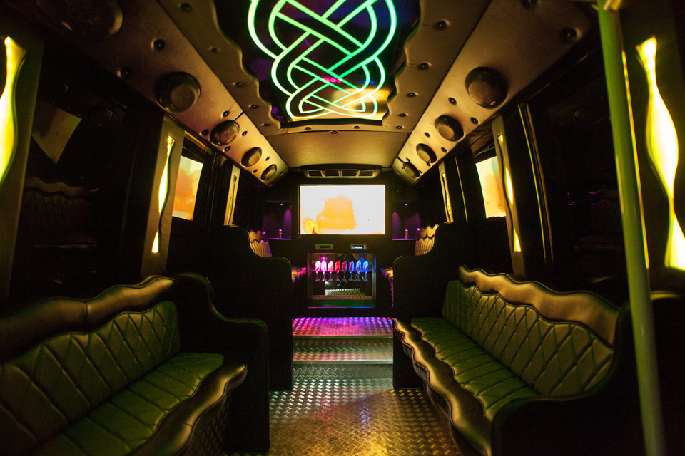 stag night party bus