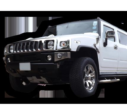 white hummer limo hire birmingham