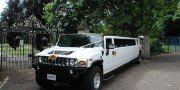 white wedding hummer hire