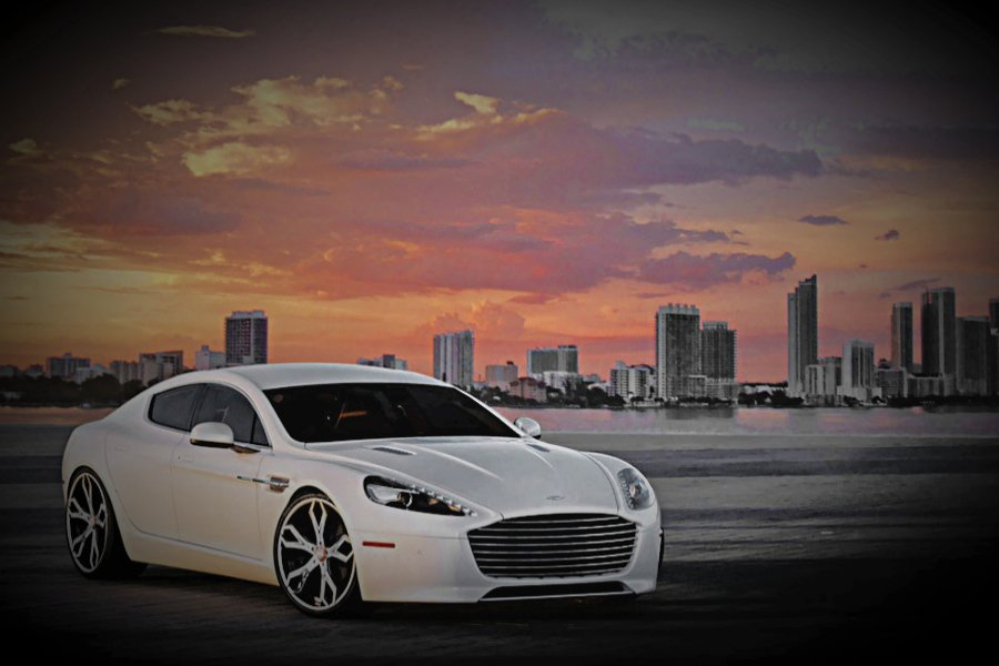 Aston Martin Rapide Wedding Car Hire Birmingam