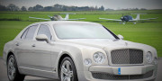 silver bentley mulsanne wedding car hire birmingham