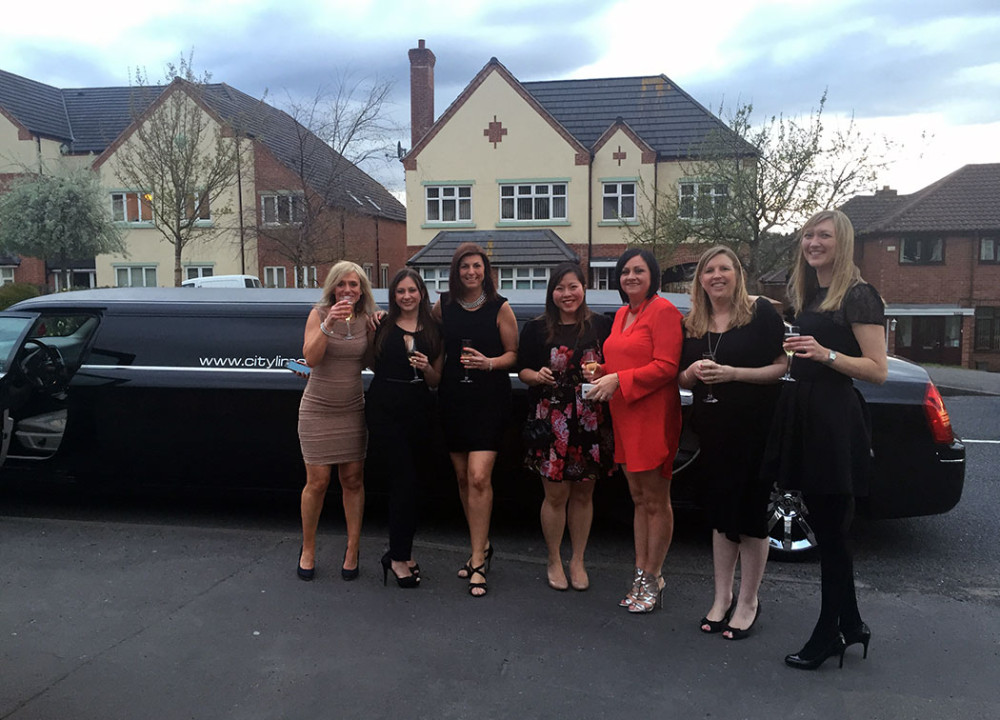 black limo hire