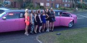 pink limo hire for birthday