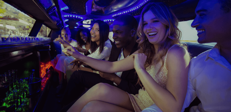 a night out with a cheap limo hire birmingham service