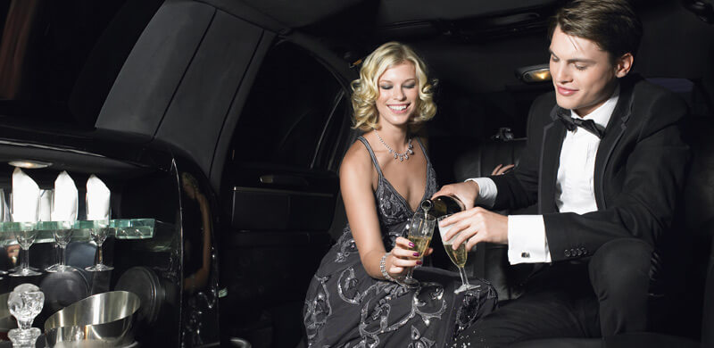 the full luxury limo hire experience