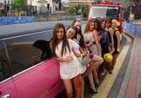 Pink Limo Hire Birmingham