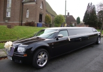 Black Baby Bentley Limo