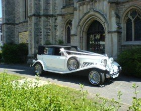 VINTAGE BEAUFORD 1930  STYLE CLASSIC WEDDING CAR HIRE