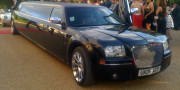 black bentley limo