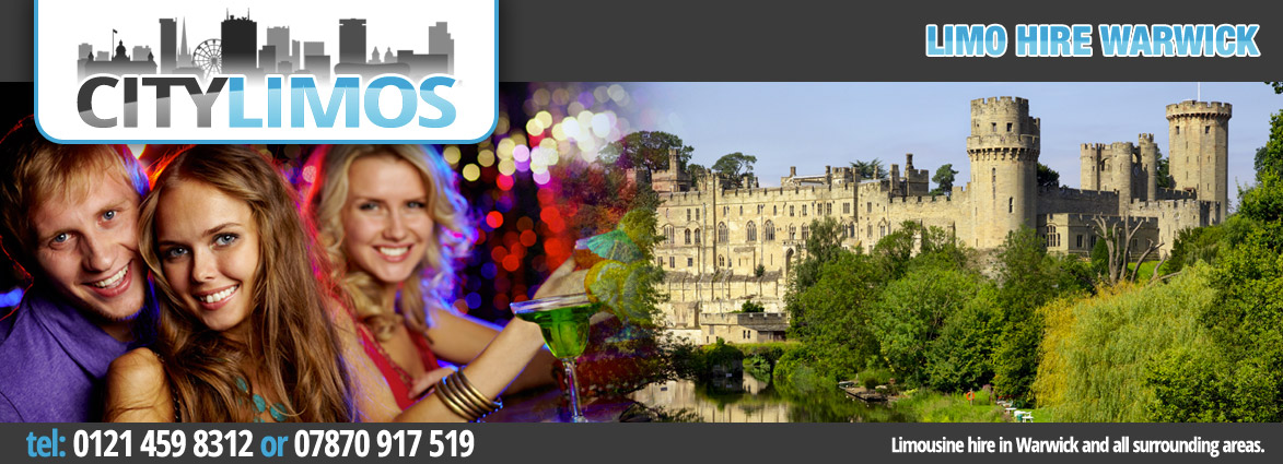 limo hire from birmingham to warwick