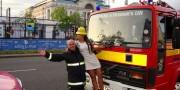 girl and fireman