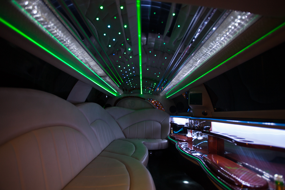 Party Bus Limo Interior