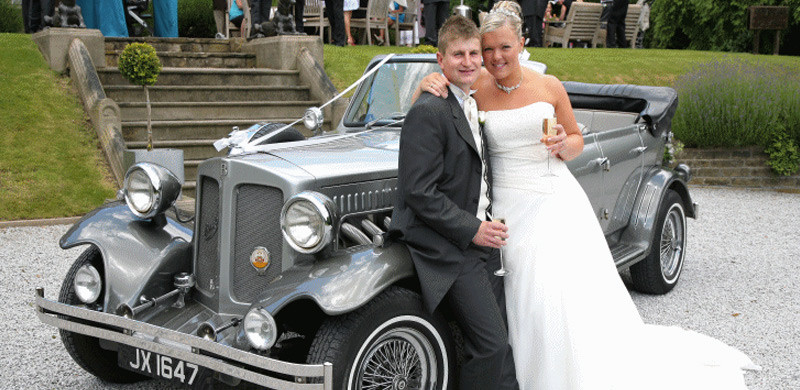 vintage wedding car hire brimingham