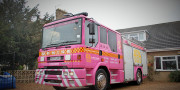 pink fire engine limo birmingham