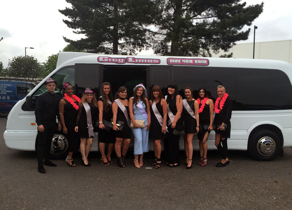 city limos party bus